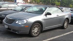 bentley replica sebring 2007 chrysler sebring convertible partsopen