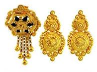 gold earrings tops 22kt gold earrings collection of indian gold earrings jewelry