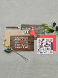 wedding invitations harrisburg pa 15 rustic wedding invitation ideas