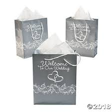 welcome to our wedding bags two hearts welcome to our wedding gift bags