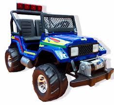 Auto Jeep Toyota A Bateria 12v Luces Malacate 2 Niños 10 999