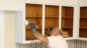 how to paint kitchen cabinet boxes today u0027s homeowner