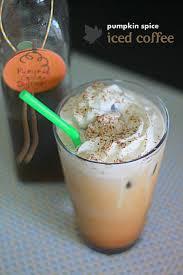 pumpkin spice for coffee pumpkin spice iced coffee kitchen treaty