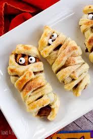 halloween mummy apple crypts u2014 home u0026 plate easy seasonal recipes