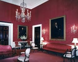 Red Room by White House Rooms John F Kennedy Presidential Library U0026 Museum