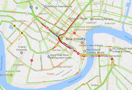 New Orleans City Map by Traffic In New Orleans Snarled As Police Respond To Suicidal Man