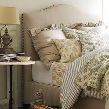 Beige Upholstered Bed Beige Upholstered Headboard Photos Popsugar Home