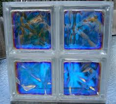 color mirage decorative glass block