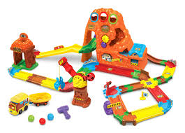 Plan Toys City Series Wooden Parking Garage by Toy Trains Toys