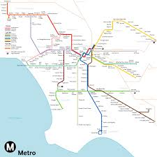 Metro Los Angeles Map by Los Angeles 2030 By Qweqwe321 On Deviantart