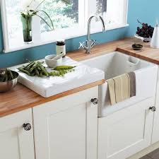ceramic kitchen sink sinks faucets astracast belfast butler gloss white ceramic