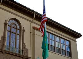 Why Are The Flags Half Mast Today Flags Lowered To Half Staff Olympia District