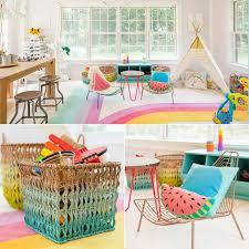 colorful kids u0027 playroom ideas popsugar moms