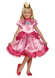 Toad Halloween Costume Toddler Princess Peach Costume