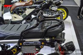 bentley zoomer honda zoomer x by kd shop rear rack carrier at 2016 bims indian