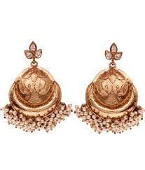 karigari earrings 16 on karigari fashions gold alloy earrings on snapdeal