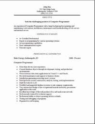 programming resume exles gallery of programming resume exles