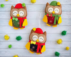 ornaments owl gift favors office secret
