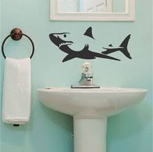 online get cheap shark wall decal aliexpress com alibaba group