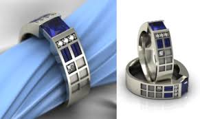 dr who wedding ring don t worry there s an engagement ring for that weddingbee