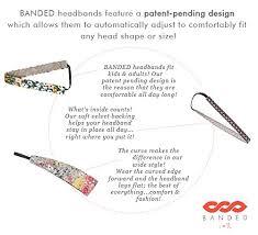banded headbands banded no slip 1 2 comfort fashion headbands aqua