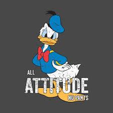 donald duck attitude pants donald duck shirt teepublic