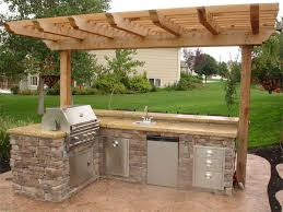 cheap outdoor kitchen ideas outside kitchen ideas outdoor grill designs ideas51