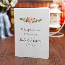 Wedding Ceremony Pamphlets Popular Free Brochure Buy Cheap Free Brochure Lots From China Free