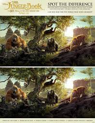 The Jungle Book Spot The Difference Printables Activity And