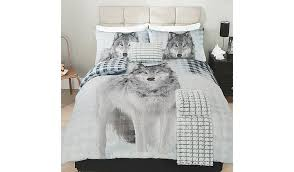 Wolf Bed Sets George Home Bed Linen Malmod For