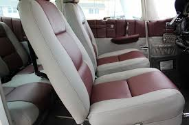 Vehicle Leather Upholstery Cessna 172 182 Complete Leather Interior Ebay