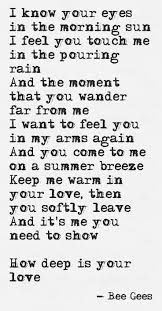 best 25 bee gees lyrics ideas on pinterest the bee gees bee sometimes someone s writing is just so beautiful that i can t not pin it