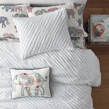 Jersey Cotton Duvet Set Charlotte Cotton Jersey Duvet Cover The Company Store