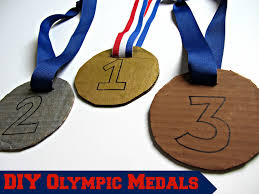 diy olympic medals great kids u0027 craft for imaginative play fun