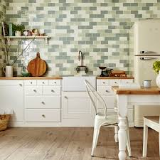 English Cottage Kitchen Designs Modren Kitchen Tiles Country Style With Seating Wooden Painted