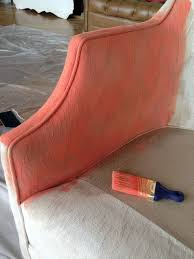 Painting Fabric Upholstery Best 25 Upholstered Furniture Ideas On Pinterest Painting