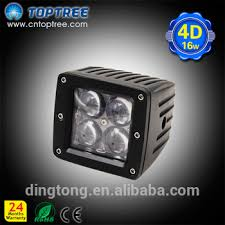 battery powered work lights 16w 12v waterproof rechargeable emergency battery powered led work