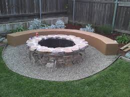 Firepit Blocks Unique Cinder Block Pit Design Idea And Decors Make A