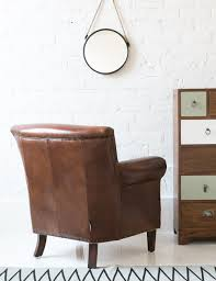 Leather Armchairs Vintage Leather Armchairs Classic Leather Armchair At Rose And Grey Brown