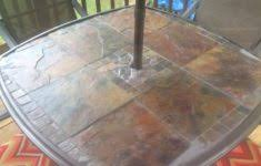 Patio Table Glass Shattered Shattered Glass Patio Table Large Size Of Patio7 Glass Patio