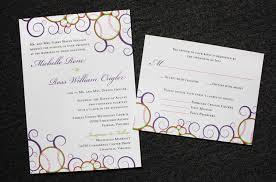 baseball wedding invitations programs archives page 8 of 29 emdotzee designs