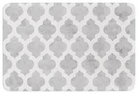Silver Bath Rugs Amanda Lane