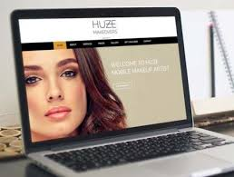 Makeup Artist Websites Huze Makeovers Web Design Wirral Ctrl Alt Create