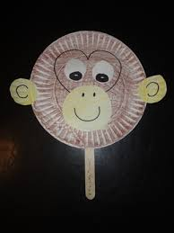 Paper Plate Monkey Craft - monkey paper plate craft classroom activities