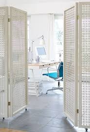 Privacy Screen Room Divider Decor Free Standing White Wood Divider Screens With Wheels For
