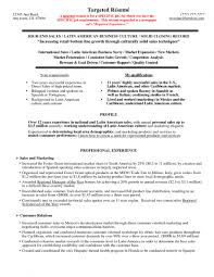 Targeted Resume Example Targeted Resume Template
