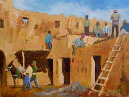 timmy mallett interests painting morocco workers