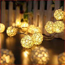 rattan ball fairy lights globe rattan ball string lights goodia 13 8feet 40 led warm white