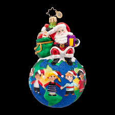 across the world world hunger awareness ornament by