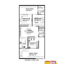 1300 Square Foot Floor Plans by House Plan For 25 Feet By 53 Feet Plot Plot Size 147 Square Yards